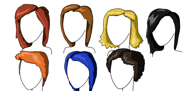 Women Hairstyles (Practice) by The-Ray3000