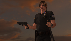 NYPD Leon Patrol Officer by bstylez