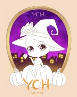 [CLOSED] Halloween YCH Auction by Ricchan08