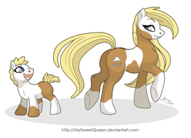 Wow, Mommy's Tail is Awesome! by MySweetQueen