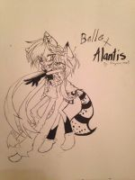 Belle X alantis by BooPoe