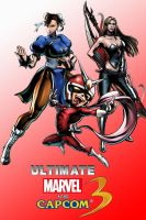 Ultimate marvel vs capcom 3 fan made poster 3 by MoriRanmaru