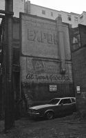 Behind Pender St.  1980 by carelesscabello