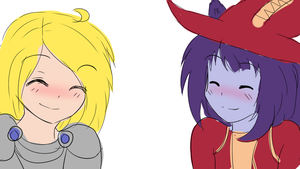 Lulu and Lux! by CuteAiko0