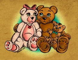 Bear Family For Cassie by Dianabolique
