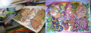 Coloring Break..... by Dreamydeb