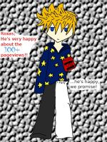 100 pageview Roxas by UkeVash