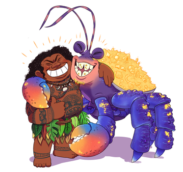 Moana: You Two Must Have Gotten Along by SugarKills