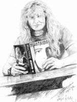 Dave Mustaine by deniznaz