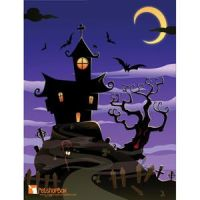 Free vector of Halloween hunted Spooky House by cgvector
