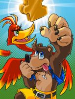 Banjo Kazooie Gettin Jiggy by AIBryce
