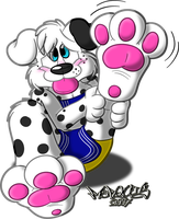 Shy Puppy Paw by Marquis2007