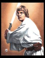 Mark Hamill, Luke Skywalker by louissollune
