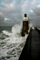 The lighthouse by Tzail