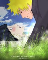 Naruto X Hinata: I will always protect you by Lesya7