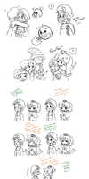 .: SMB Sketches :. by FnFiNdOART