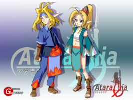 Ataraxia Online: Elves by Goldsickle