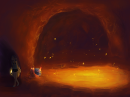 Cave 2 Level 2 by Yufika