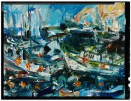 Boats by LaurieLefebvre