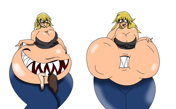 Belly Maw by WendyProng