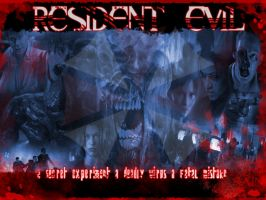 RESIDENT EVIL 2 years by InvisibleRainArt
