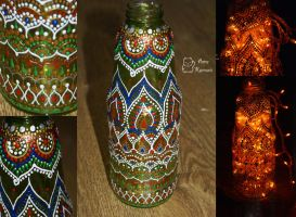 the  indian bottle by AmeKamura