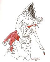 Pyramid Head is at..:updated: by twistedjester6