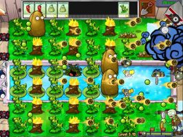 Plants vs Zombies Chaos by mp23494