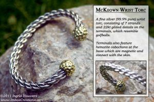 McKeown Wrist Torc by Illahie