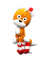 The Creepy Tails Doll by NIBROCrock