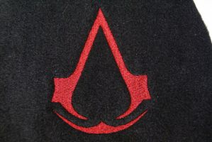 Assassin's Creed Embroidery by The-BlueKitty