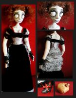 Mrs. Lovett doll by aiz-cream