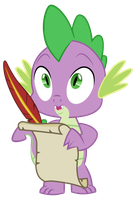 [MLP VECTOR] Spike-surprised01 by Light262