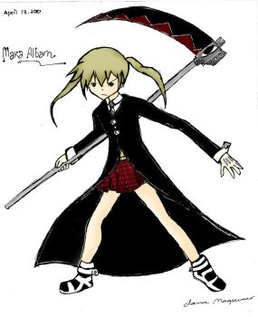 MAKA of soul eater by haru-chan037