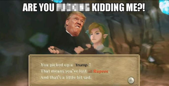 Picked up a...Trump. by Priamplio