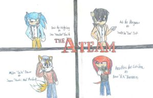 Sonic: the A-Team by DeviantK14