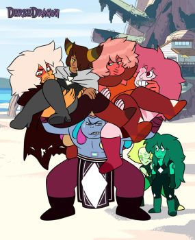 Gemsona Pile by DerseDragon