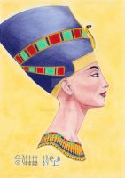 Queen Nefertiti by Nica-vb