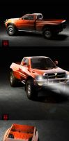 DODGE RAM by palax