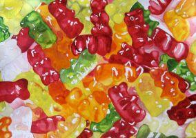 gummy bears by niffer5150