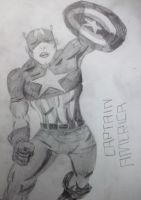 Captain America. by interruptedgirl42