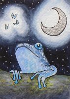 ATC: Night Frog 3 by Athalour