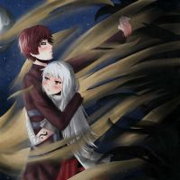Gaara and Luna by Kuriuss
