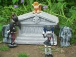 Begoths in the graveyard (3) by autumnrose83