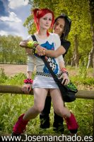 country cyber goth couple by josemanchado