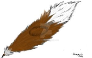 Smoke ring eagle feather by Lunardew