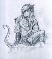 Kairon the tiefling bard by pepacs