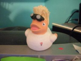 Dr. Horrible Duck by msfurious