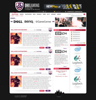 ohi gaming - esport layout by Bob-Project