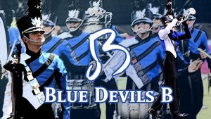 Blue Devils B Wallpaper by leakypipes